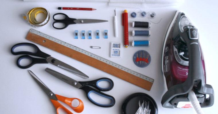 Mon matériel couture #1 : Mes 10 outils indispensables pour coudre