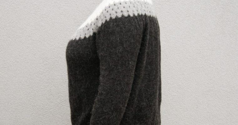 J'ai tricoté : le pull Bowfell d'Along avec Anna