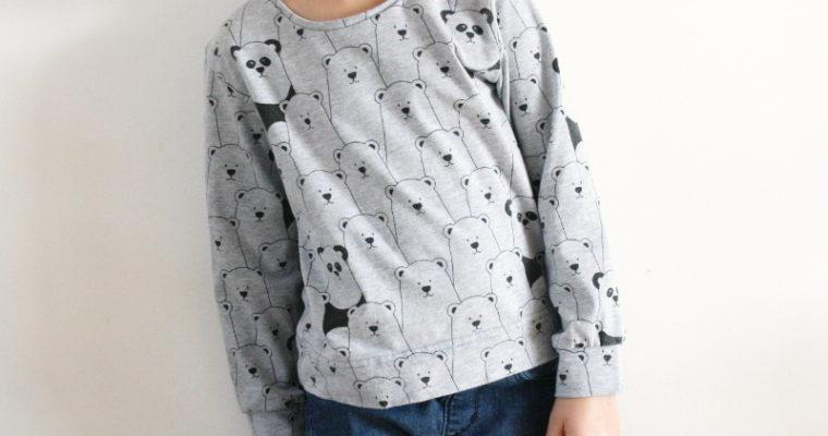 J'ai cousu : un t-shirt à manches longues (Ottobre Enfants)