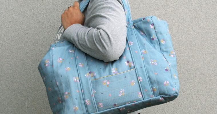 J'ai cousu : le kit «sac week-end» de Lise Tailor