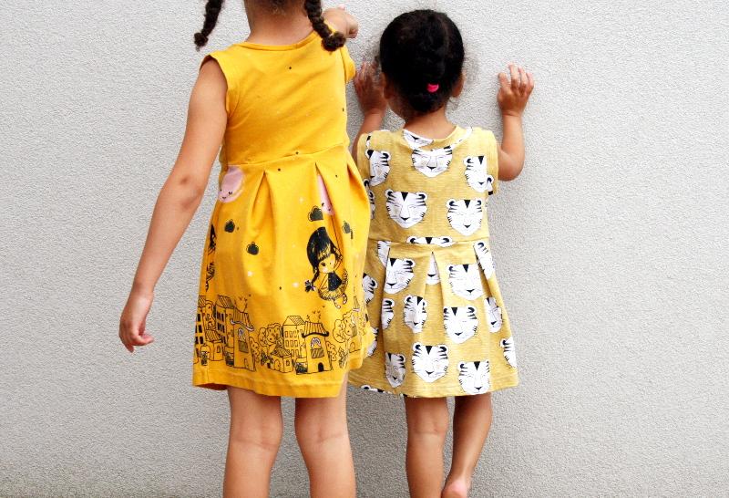 Duo de robes Tulla de La Maison Victor - vue de dos