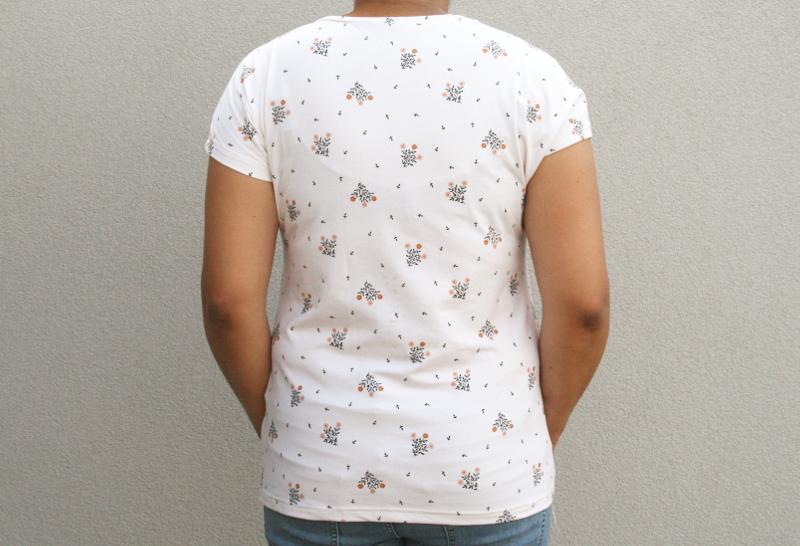 T-shirt dressed de Deer&Doe en Lise Tailor - vue de dos
