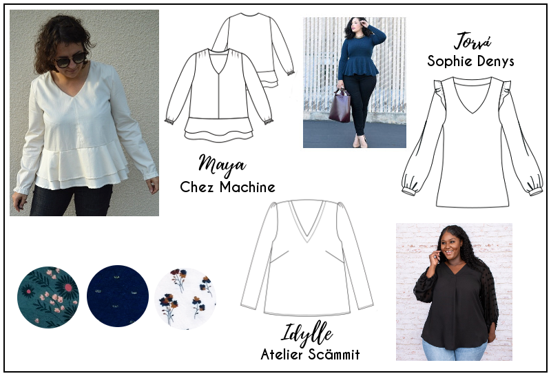 Capsule automne-hiver 2021 - blouse